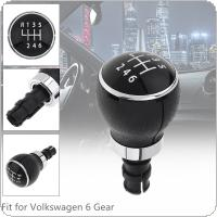 6 Speed  ABS  Car Manual Gear Shift Handball Knob Car Accessories Fit for Volkswagen VW Passat B6 2005-2011  / 6 Gear Models