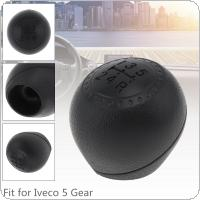 5 Speed ABS Car Manual Gear Shift Handball Knob Car Accessories Fit for Iveco Daily 2000 2001 2002 2003 2004 2005 2006