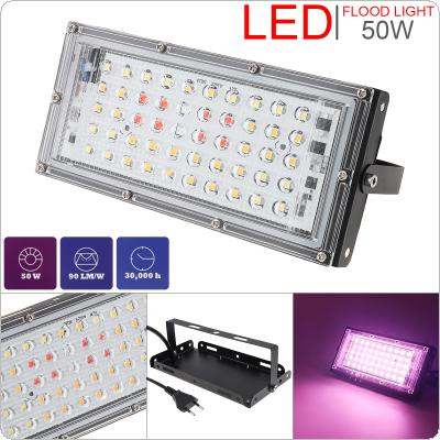 50W LED Panel LED Plant Grow Light with Natural Full Spectrum LED Light Bulbs for Indoor Plant Vegetation / Seedling / Succulents / Growing / Blooming