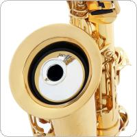 ABS Sax Mute Dampener Silencer for Alto Saxophone Gold / Silver / Black
