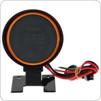 2 Inch 52mm LED Display 12V Universal Water Temperature Gauge Meter + Durable with Sensor for Car / Truck Modification