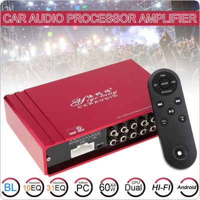 DC12V/AC110V /AC220V Bluetooth 2CH Hi-Fi Car Stereo Audio Power Amplifier Digital Player Support USB / SD / FM / DVD