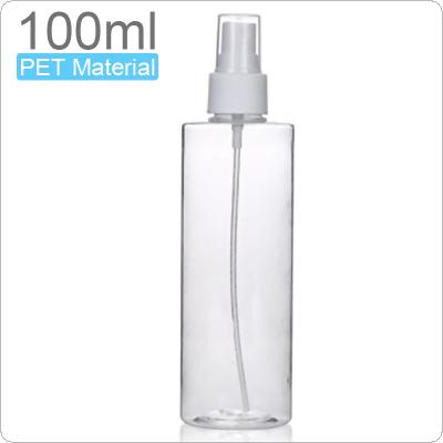 100ML Refillable Bottles Plastic Small Spray Bottle Portable Transparent Travel Cosmetic Container Mini Perfume Bottle Toxic-free