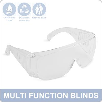 Transparent Safety Glasses Anti-splash Eye Protection Goggles Anti-fog Dust-proof Outdoor Wind-proof UV-proof Goggles Eyewear
