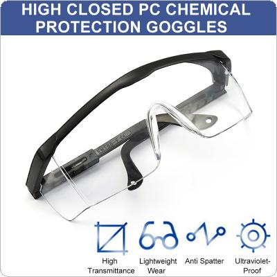 Anti-splash Glasses Medical Eye Protective Goggles Eyewear Anti-UV Dust-proof Goggles Anti-fog Fully Enclosed Adjustable