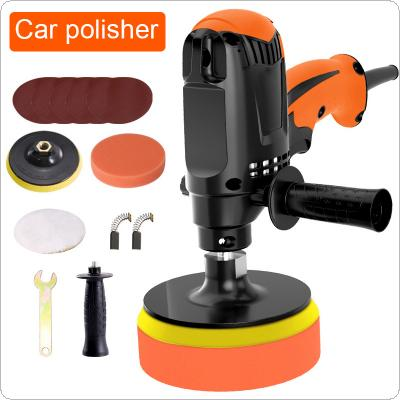 220V /110V 980W Car Polishing Machine Six Gears Adjustable Speed Car Electric Polisher Car Grinder Car Machine Polisher Power Tool