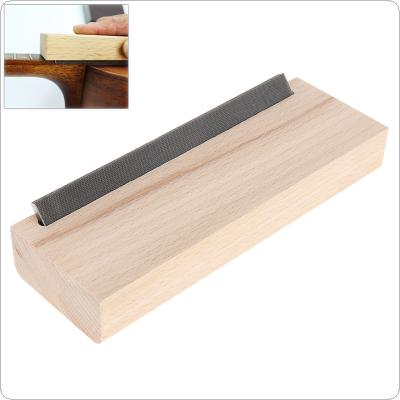Electric Acoustic Guitar Fret Crowning Luthier File Hard Maple Steel Narrow Dual Cutting Edge Tool