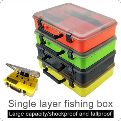 40.5 x 28.5 x 8.5cm Portable Fishing Tackle Boxes Fishing Reel Line Lure Tool Thicken Large Multifunction Storage Box