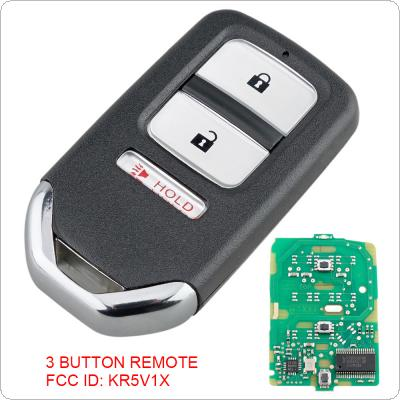 313.8 FSK 3 Buttons  Smart  Keyless Car Remote Fob with ID47 Chip KR5V1X  Fit for HONDA FIT HR-V KR5V1X