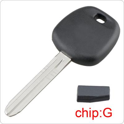 Uncut Blade Blank Car Key Ignition with G Transponder Chip TOY44G-PT Fit for Toyota 4Runner Avalon Camry Corolla FJ Cruiser