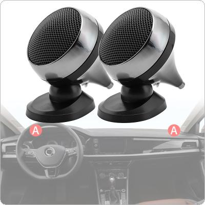 2pcs Universal  Car Tweeter Loudspeaker 150W 4Ohm Audio Silk Film for Car Modification High-Pitched Car Audio Modification Nondestructive