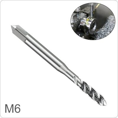 1 piece M6 Square  Shank High Speed Steel Screw Thread Tap Drill Bit  for Woodworking Plastic And Aluminum HSS Drill Bit