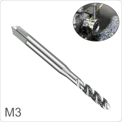 1 piece M3 Square  Shank High Speed Steel Screw Thread Tap Drill Bit  for Woodworking Plastic And Aluminum HSS Drill Bit