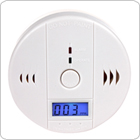 CO Carbon Monoxide Alarm poisonous Gas Sensor Warning Detector with LCD Display