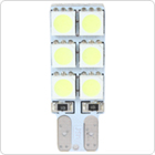 12V 2W T10 194 W5W Super White LED Car Side Wedge Non Polarity Light Lamp with 12 x 5050 SMD LEDs