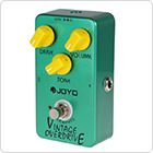 Joyo JF-01 Vintage Overdrive Full Sound Guitar Pedal with True Bypass for Classic Tube screamer