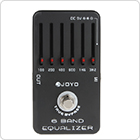 Joyo JF-11 Professional Guitar Pedal with 6-Bands Equalizer & True Bypass