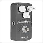 JOYO JF-35 Pocket Metal Effect Pedal with True By-pass, Three Knobs