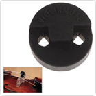 Acoustic Round Black Rubber Violin Mute