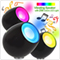 Rechargeable Digital Micro 256 Mood LED Light Lamp Met Vibration Speaker