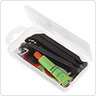 Plastic Box with Tools Bicycle Tyre Tube Puncture Repair Kit