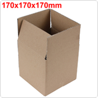 Gray Package Box 170 x 170 x 170mm