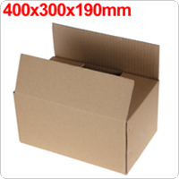 Gray Package Box 400 x 300 x 190mm