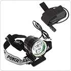 SecurityIng 1500Lm 3 x LB-XL T6 LED Light Bicycle Lamp  Headlamp with 4400mAh Battery Pack