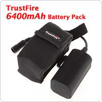 TrustFire 6400mAh 8.4V Rechargeable Battery Pack for Bicyle Light & Headlamp