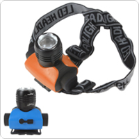 Super Bright 600 Lumens Zoomable XM-L T6 LED Headlamp with Adjustable Focus Function for Outdoor Environment
