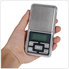 MH Series 500g / 0.1g Cellphone Mini Pocket Electronic Digital Scale with Blue Backlight Display