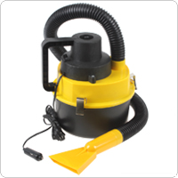 Portable 12V Wet & Dry Auto Car Dust Vacuum Cleaner with Brush / Crevice / Nozzle Head
