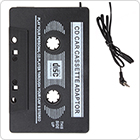 Car Cassette Tape Adapter Travel Audio Music Converter Adaptor 3.5mm Jack Fit for iPhone / iPod / Smartphone / MP3 / CD Player