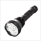 Super Bright 9x XM-L T6 LED 5400Lumens 5 Modes LED Flashlight Torch for Camping / Outdoor