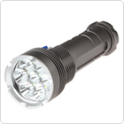 4200Lm 7 x XM-L T6 LED Camp Flashlight Torch with Double Switch