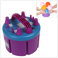BOROSINO Powerful Electric Balloon Pump with 4 Inflation Nozzles for Big Parties and Occasions