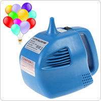 BOROSINO Blue Single Nozzle Balloon Inflator 400W Electric Balloon Pump