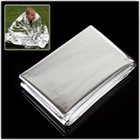 Outdoor Double Sides Silver Emergency Survival Rescue Military Blanket