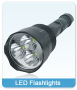 Wholesale LED Flashlights / Torches