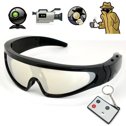 Spy Glasses | Hidden Camera Spy Sunglasses for Body Worn Surveillance