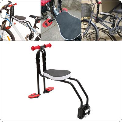 Bike Child Safety Seat Child Bicycle Front Chair Suitable for 2.5-6 Years Old Baby