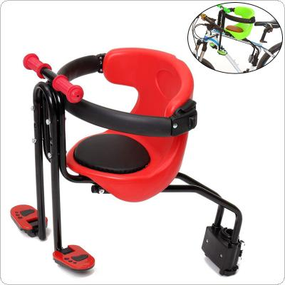 Bike Child Safety Seat Child Bicycle Front Chair Suitable for 0-4 Years Old Baby