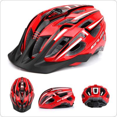 56-59cm Light Cycling Helmet Integrally Molded Mountain Road MTB Helmets with Taillight
