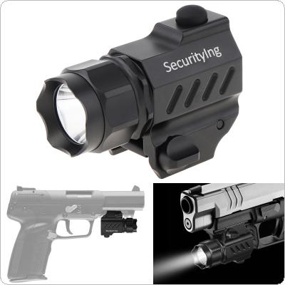 SecurityIng 210 Lumens XP-G R5 LED Tactical Mini Flashlight G01 with 2 Modes Support CR2 Battery for Hunting/Hiking/Camping and Other Indoor/Outdoor Activities