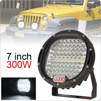 7 Inch 300W 6000K Work Driving Lights Spot / Flood light HID Vehicle Driving Lights for Offroad SUV / ATV / Truck / Boat